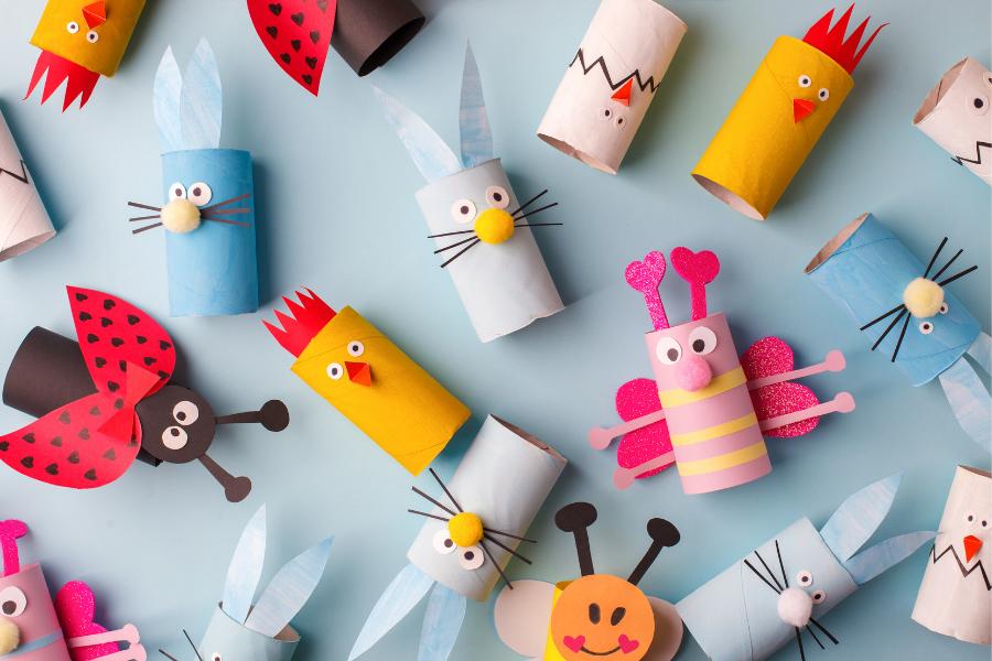 4 + 2 κατασκευές και παιχνίδια για την παγκόσμια ημέρα ζώων